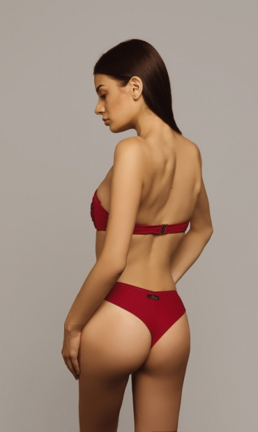 Brazilian Bottom Deep Red