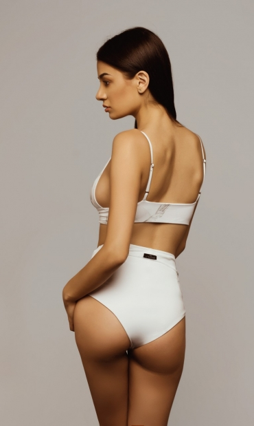 High Waist Bottom Acanthus
