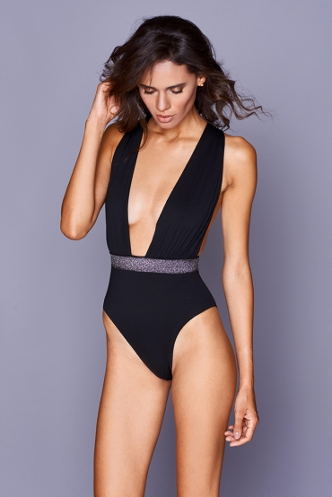 Calliope Swimsuit Black
