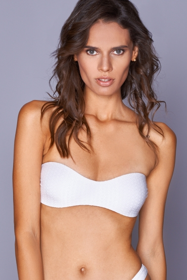 Antheia White Wave Top