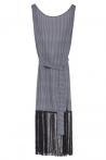 Elettra Vestito  Frange Black Pattern