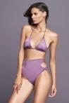 High Waist Bottom Light Purple