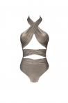 Aura Swimsuit Silver