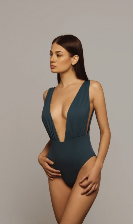 Castalia Swimsuit Petrol Blue
