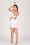 Era Shorts White