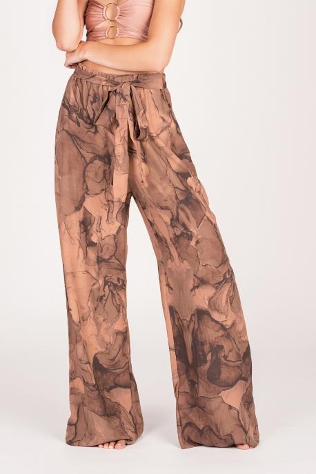 Narciso Pantaloni Pink Marble