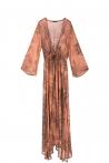 Satyria Kimono Pink Marble