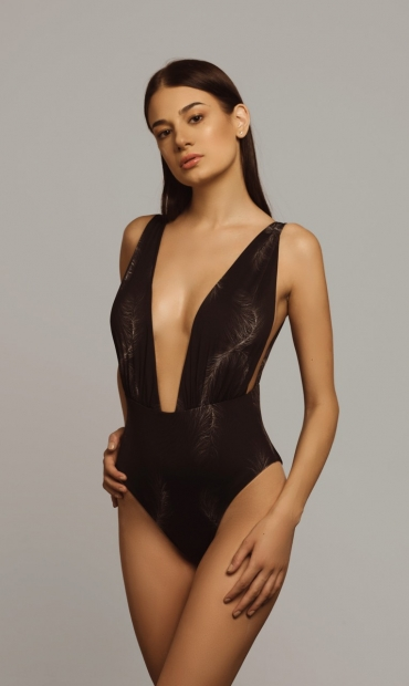 Castalia Swimsuit Feather