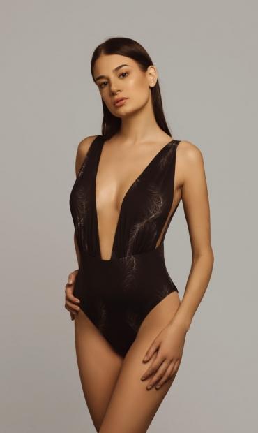 Castalia Swimsuit Feather
