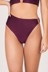 High Waist Bottom Plum